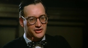John Rothman the librarian in Sophie's Choice moonlighting from his day job as a sadist