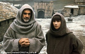 It might help follow the post if you keep the picture of Sean Connery in the film role in your mind, rather than Sherlock Holmes in a monk's habit. His young assistant, Adso, is Watson but without the moustache and a lot younger.